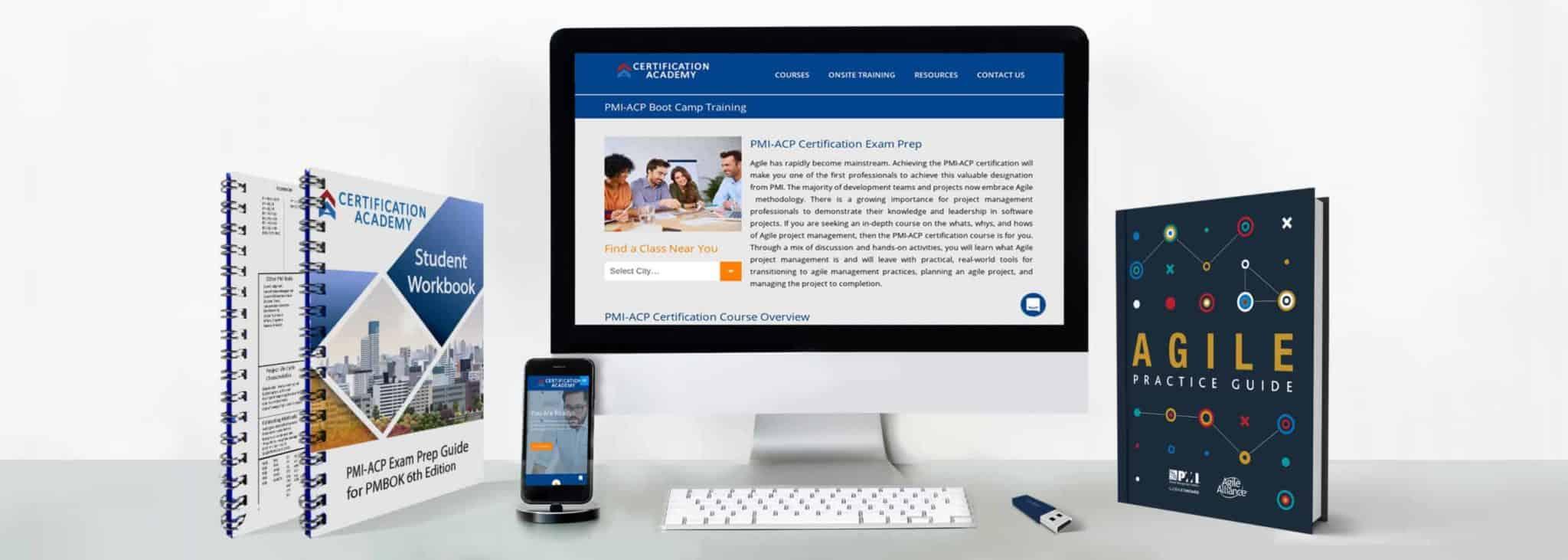 pmi-acp certification training materials
